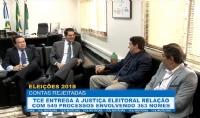 Tribunal de Contas entrega à Justiça Eleitoral relação de gestores com contas rejeitadas