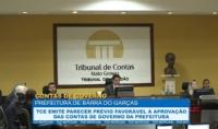 TCE emite parecer prévio favorável à aprovação das contas da prefeitura de Barra do Garças
