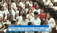 Programa TCEstudantil recebe a visita de cerca de 300 alunos em setembro