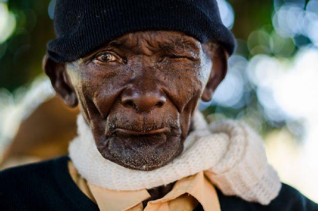 Aos 112 anos, Antonio Mulato é símbolo do Quilombo Mata Cavalo