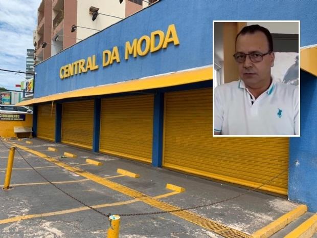 Proprietário da Central da Moda diz que Mandado de Penhora e Remoção estava errado