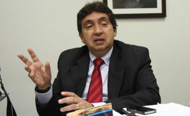 Na imagem, o desembargador Márcio Vidal, que deverá ocupar o cago de presidente do TRE-MT