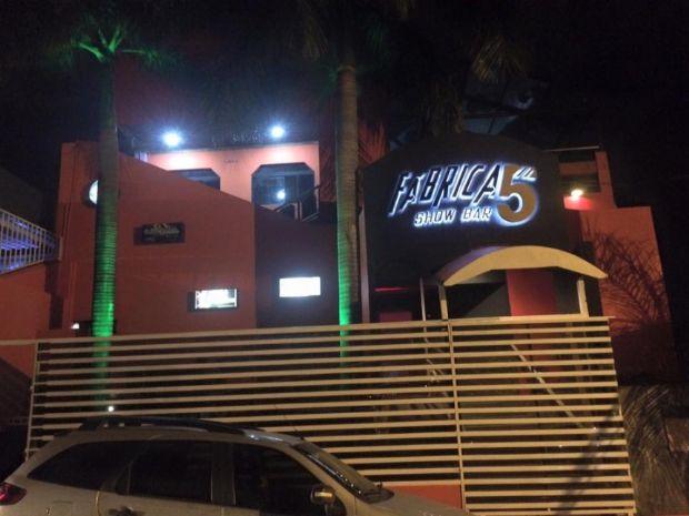 Fábrica 5, casa noturna de Cuiabá
