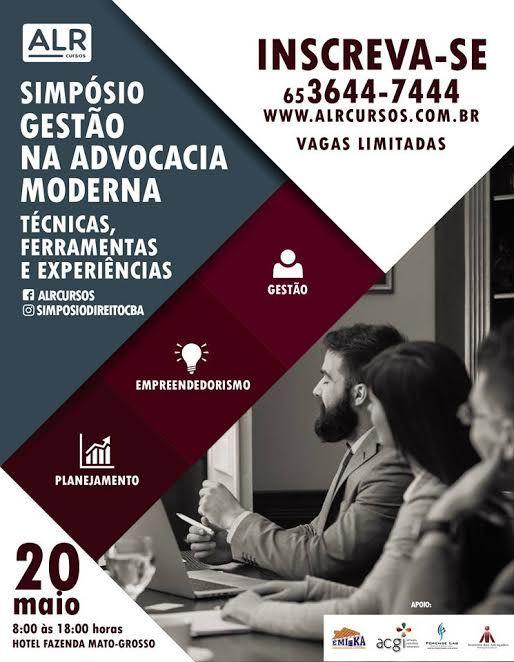 Empresa promove simpósio para gestão na advocacia
