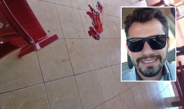 Detalhe: Vítima, Silas Henrique Palmieri Maia, de 33 anos.