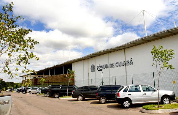 Fórum de Cuiabá construído em 2004 passa por reforma de R$ 10 milhões