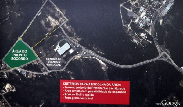 Justiça garante que área do novo Pronto-Socorro é da Prefeitura de Cuiabá