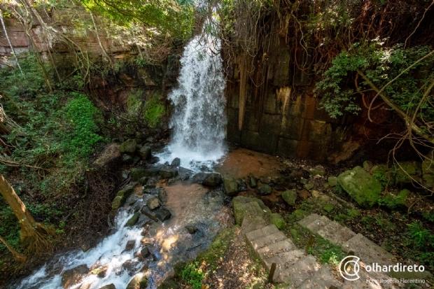 Após TAC, Juizado Volante libera banho de cachoeira na Salgadeira