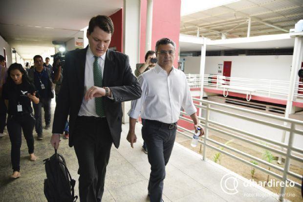 Alan Malouf entrega sala comercial para quitar fiança de R$ 350 mil e recebe alvará de soltura