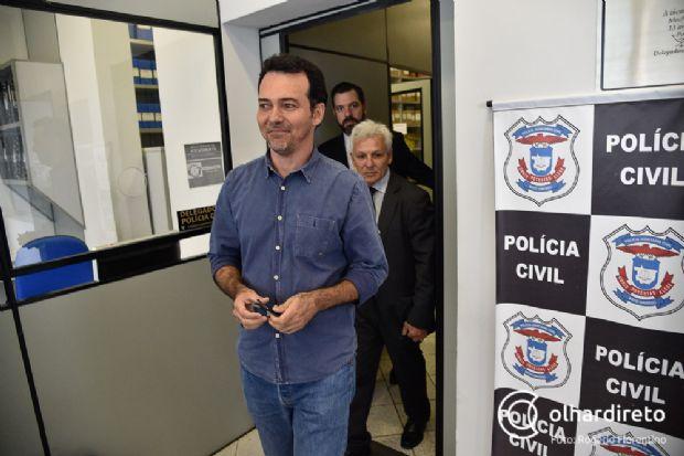 Lúdio Cabral foi conduzido coercitivamente