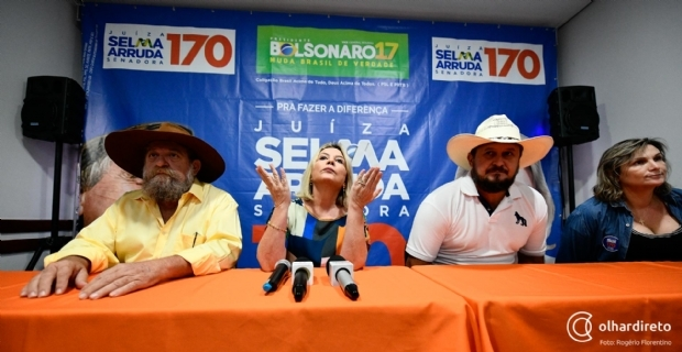 Para Ministério Público Eleitoral, Selma só tem direito a sete segundos de propaganda