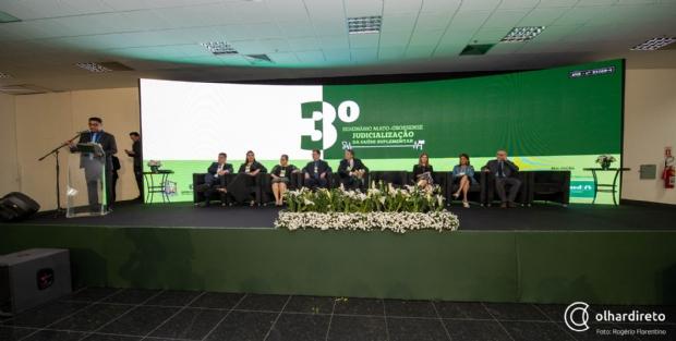 Com crescimento da judicialização da Saúde Suplementar, Unimed realiza seminário para buscar soluções