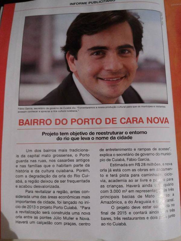 Ex-secretário de Mendes e pré-candidato é alvo de denúncia por propaganda irregular