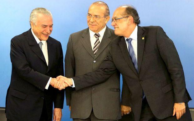 Gilmar Mendes e Presidente Temer