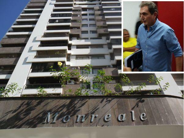 Pedro Nadaf e apartamento.