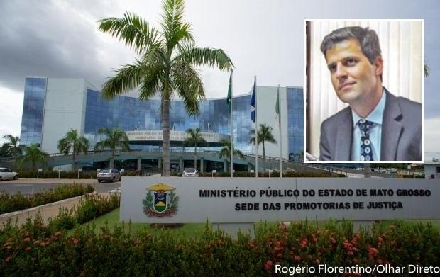 No detalhe: O promotor César Danilo
