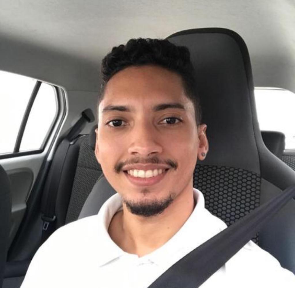 Luiz iniciou no aplicativo em fevereiro de 2019 e desde então segue atuando. - Foto: Arquivo Pessoal